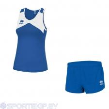 Комплект формы женский для легкой атлетики, бега ERREA STEFAN (W) + BLAST