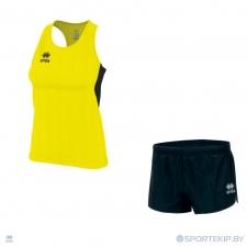 Комплект формы женский для легкой атлетики, бега ERREA SMITH (W) + BLAST