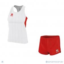 Комплект формы женский для легкой атлетики, бега ERREA SMITH (W) + MEYER