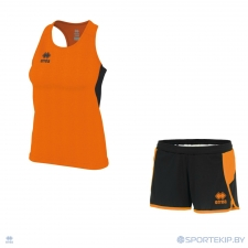 Комплект формы женский для легкой атлетики, бега ERREA SMITH (W) + SHIMA