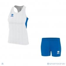 Комплект формы женский для легкой атлетики, бега ERREA SMITH (W) + GWEN (W)