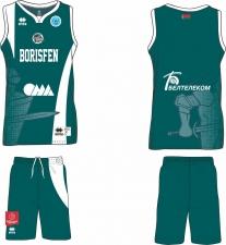 Баскетбольная форма ERREA BORISFEN 19/20 GREEN